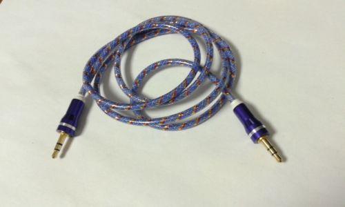 10pcs 3.5mm macho Jack Plug macho a macho Cable de conector de audio estéreo 1M