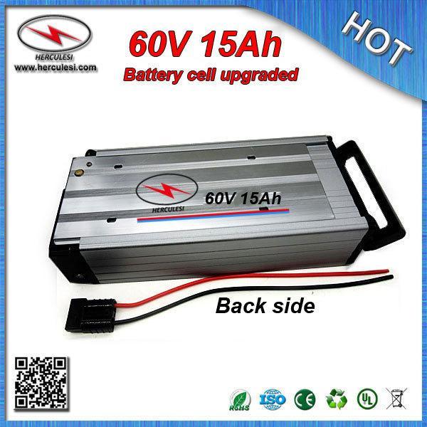 SPEDIZIONE GRATUITA Batteria al litio da 60 Volt con rack 60V 15Ah Batteria al litio 15A BMS Custodia in alluminio per cellulare Samsung per bici elettrica
