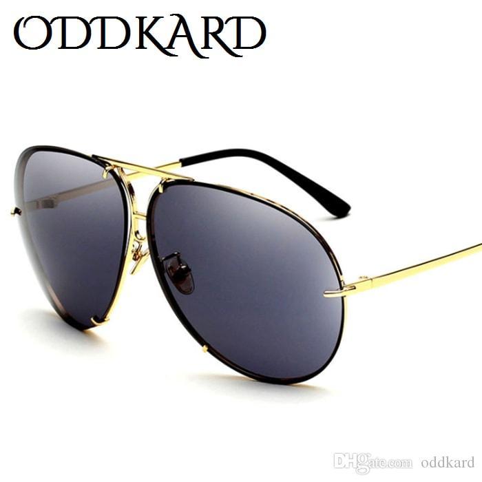 Oddkard جديد عصري أزياء الرجال الصيف الساخن خمر ماركة مصمم الطيار نظارات شمس جودة عالية قسط نظارات uv400