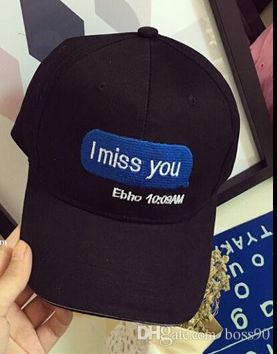 NEW i love you Hat the valley South Korean flag Violet losing you i miss you snapback Cap drake cap bone gorras cap