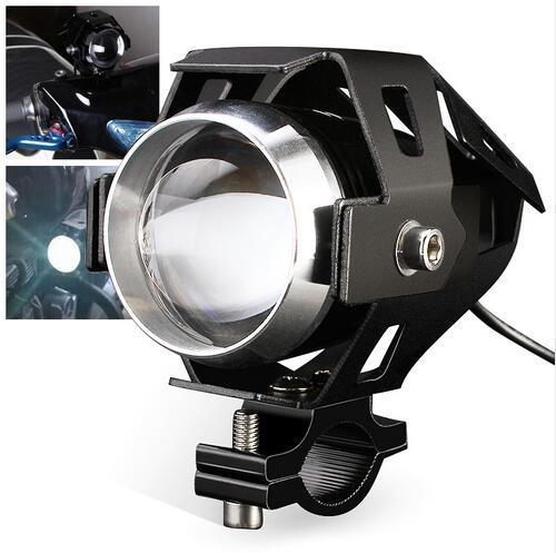 3 Mode: Bright Light/Soft Light/Cool Flash Light Cree U5/U7 Motorcycle led Driving Light fog lamp with lens Headlight offroad