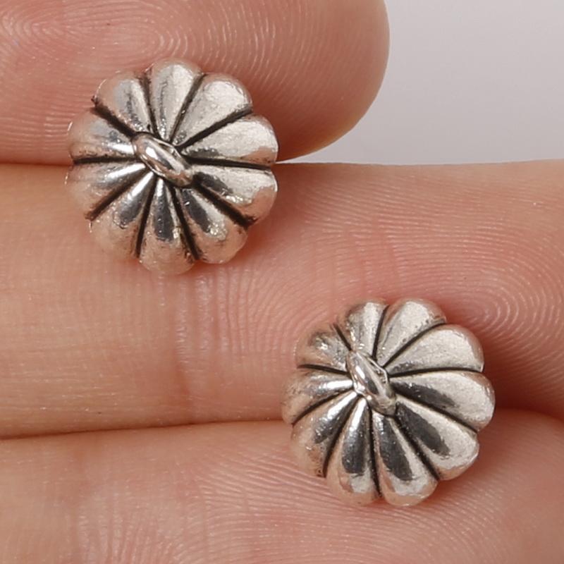 Envío gratis 4 unids Aleación de Zinc de Plata Antigua Lotus Root DIY Encantos Colgantes joyería que hace DIY