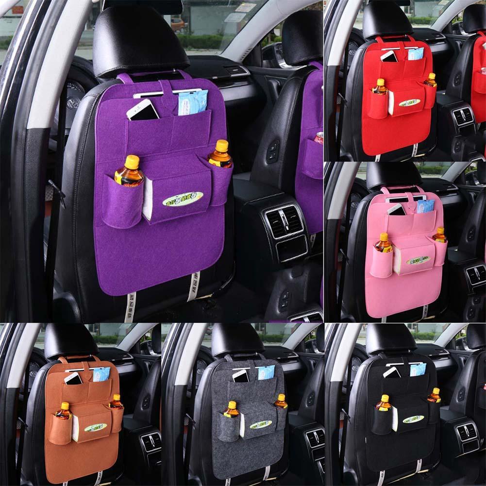 Car Storage Bag >> Car Storage Bag Universal Box Back Seat Bag Organizer Backseat Holder Pockets Car Styling Protector Auto Accessories For Kid Automotive Trunk