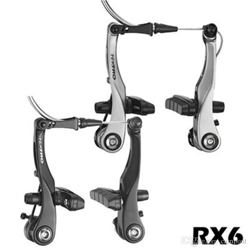 schwarz 1 Stück TEKTRO RX6-sandblastet black Mini V-Brake RX 6 VR oder HR