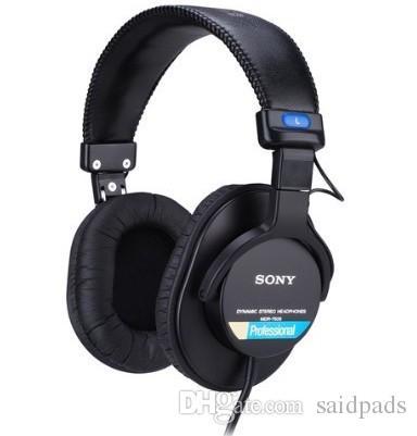 1 par Almofadas de ouvido de Couro Macio Almofadas de ouvido capas de fone de ouvido para Sony MDR-7506 HD202, HD437 E HD497 Fones De Ouvido