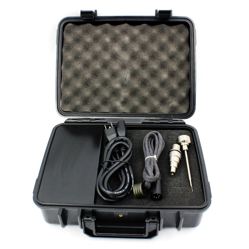 Majesty Pelican Case Box D nail Temperature Controller Box D nail Kit with coil heater titanium nail DHL Free