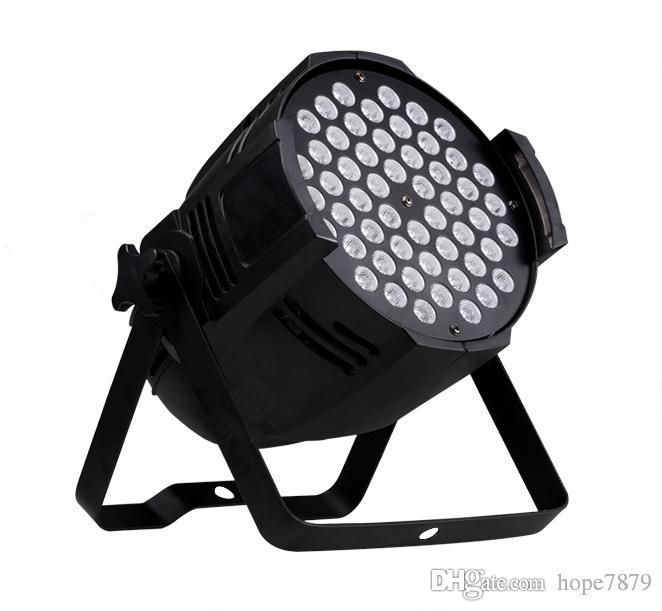 Цена по прейскуранту завода-изготовителя AC110-240V 54X3W RGBW club bar lamp LED Stage Game Room lights KTV Lighting DJ Stage Lights прожекторы с управлением DMX512
