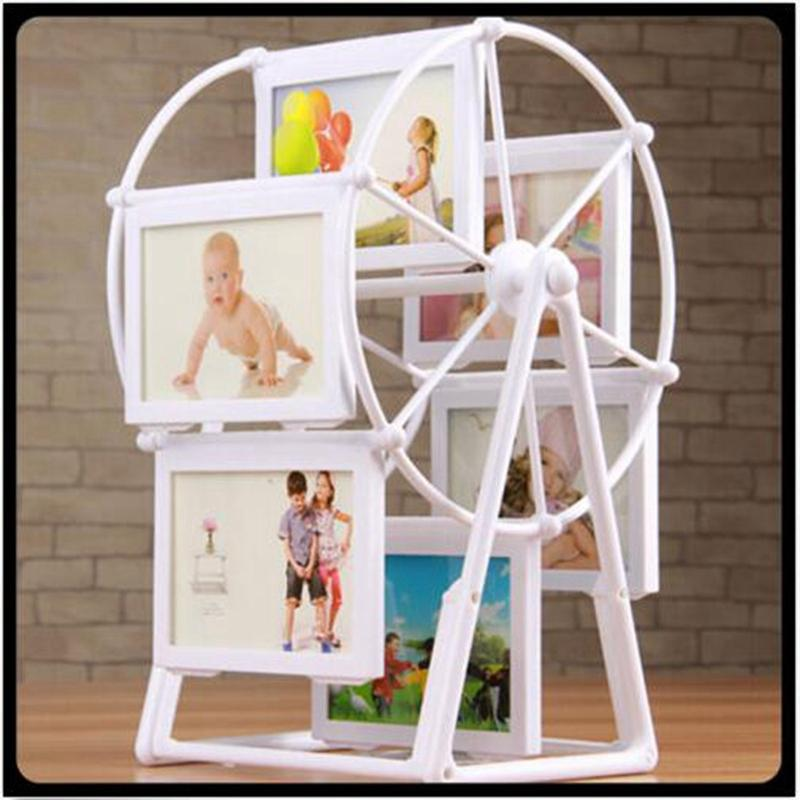 2018 2016 New White Photo Frame Picture Frames Ferris Wheel Windmill ...