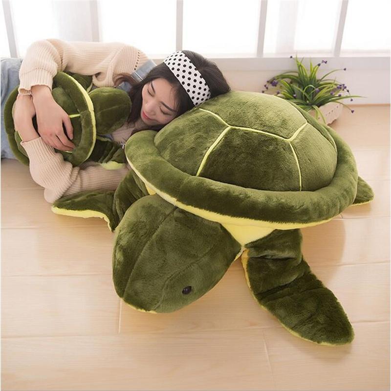 Funny Plush Tortoise Turtle Animal Stuffed Doll Baby Kids Soft Pillow Toy Gift