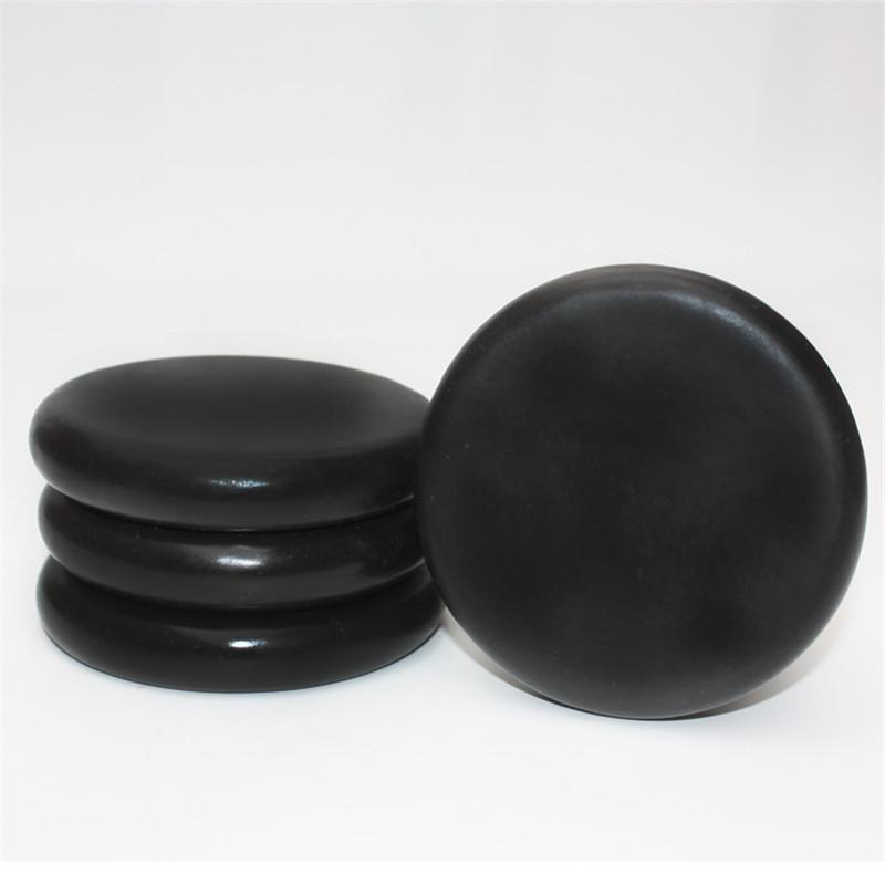 HIMABM 1 pz 100% Natrual 10 * 10 cm grande spa calda pietra di basalto nera pietra di basalto