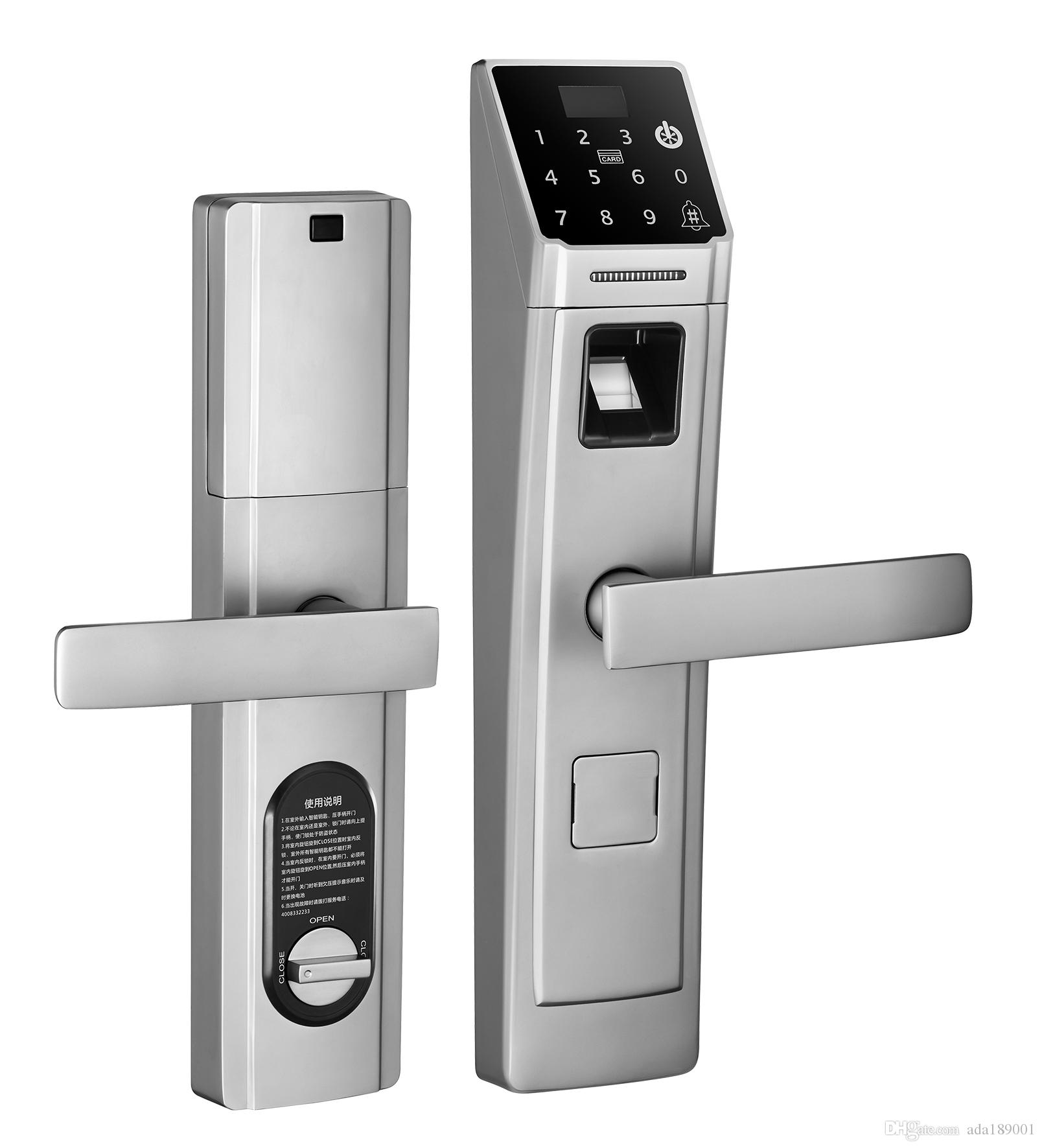 electronic door lock home fingerprint lock home security doors combination lock locks intelligent are wang lisuo