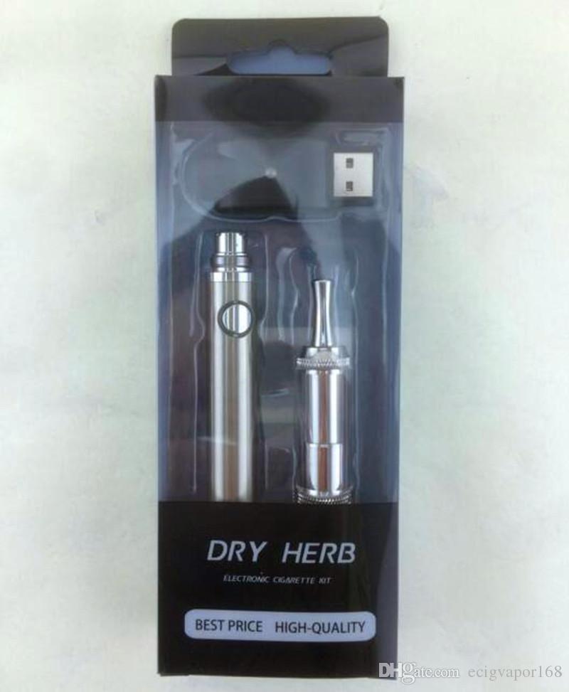 eGo Cloutank M3 Dry Kräuter-Evod Blister-Kit ECigarettes EVOD Batterie M3 Vaporizer Atomizer Cloutank Wachs Vape Pen Mods e Zigarette Starter-Kits