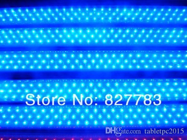 T8 튜브 주도 라이트 블루 컬러 18w 1200mm 10 piece 1 lot 무료 배송 LED 형광등 램프 85-265V