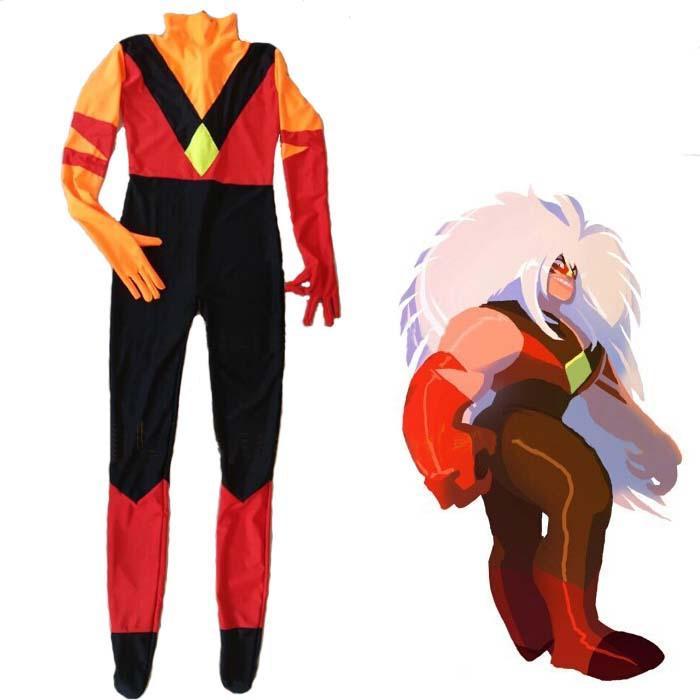 Steven Univers Costume De Jasper Lycra Spandex Zentai Halloween Super-Héros Halloween Party Cosplay Costume