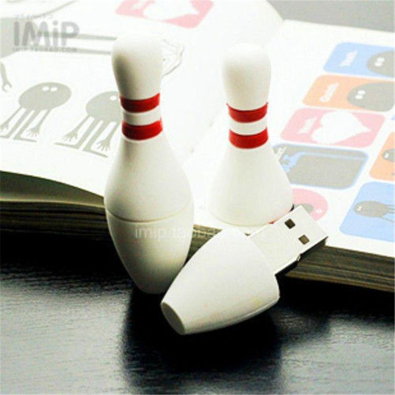 Cute Cartoon Bowling Model usb 2.0 flash memory stick pen drive 128GB 16GB 32GB 64GB 256GB real full genuine capacity