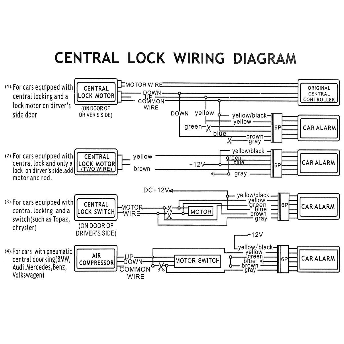 car keyless entry wiring diagram 2020 12v car alarm system vehicle keyless entry system with remote  2020 12v car alarm system vehicle