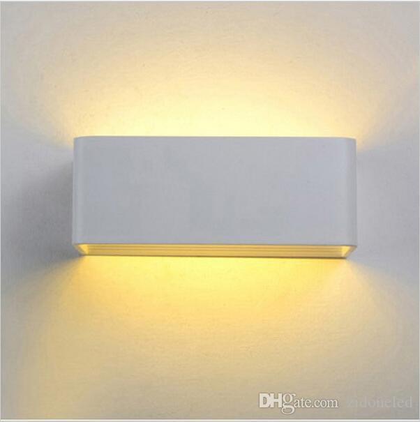 Le mur mené moderne allume le luminaire 5W / 7W / 12W de bras de lumière pour les lumières de bougeoir de décoration de chambre à coucher de salon
