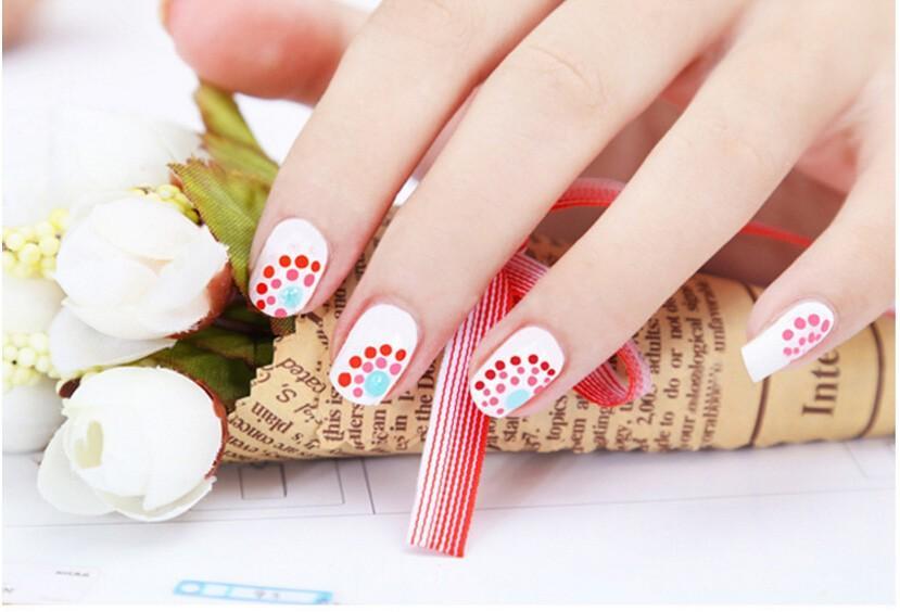 3d Uv Gel Nail Art Dotting Tools Painting Rhinestone Dots Nail Art ...