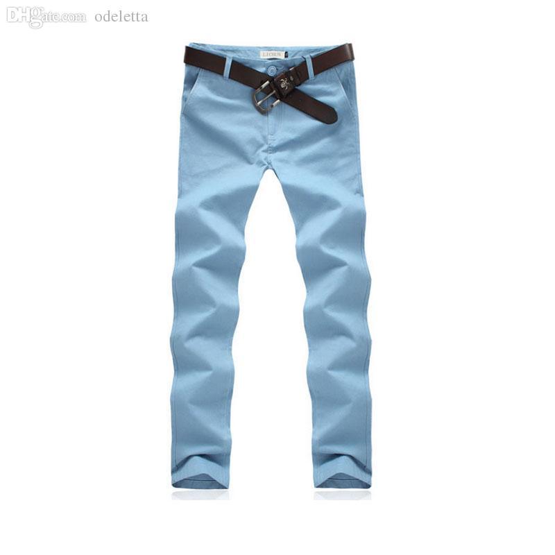 Wholesale-SIZE M-XXXl cotton men's trousers classic runners loose-fitting pants men men's clothing black khaki pants trousers summer