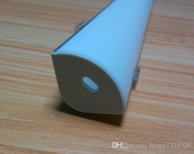 Trasporto di alta qualità più nuovi alluminio ha condotto qualità di fascia alta extrusion- portato profilo striscia principale sospeso profilo luce