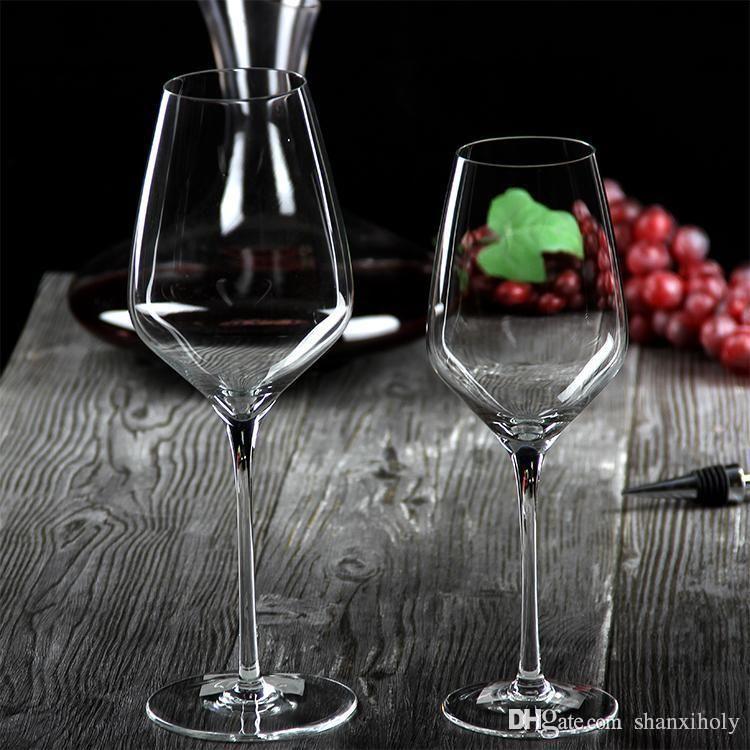 Handgemachtes gutes Qualitätskristallrotweinglas
