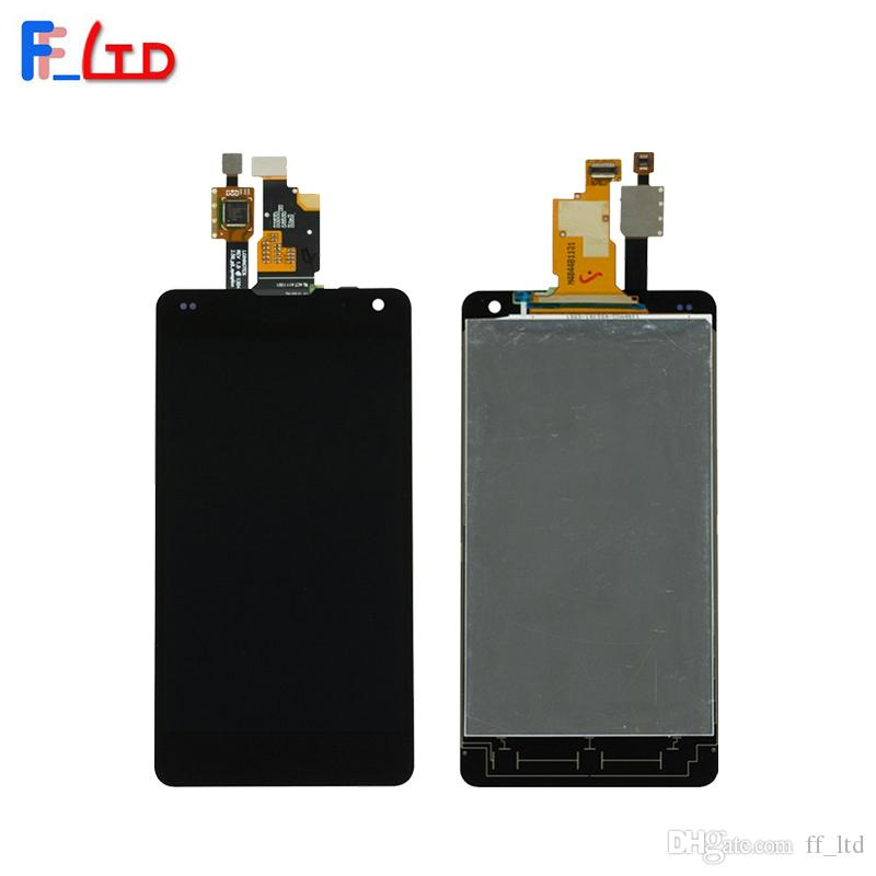 OEM display for LG Optimus G E971 E973 E975 F180 LCD Display Digitizer Touch Screen Full Assembly Replace 100% Tested