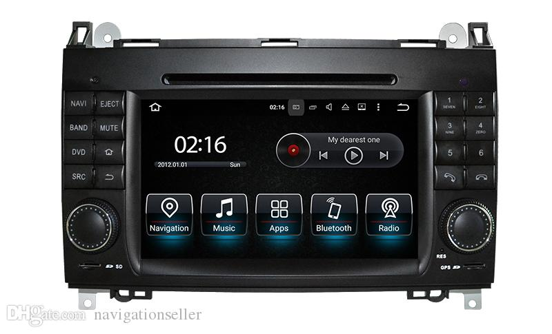Octa core Android10.0 64G Lecteur DVD de voiture pour Mercedes Benz Sprinter W169 W245 W906 Viano Vito W639 3G WIFI GPS Navigation Radio