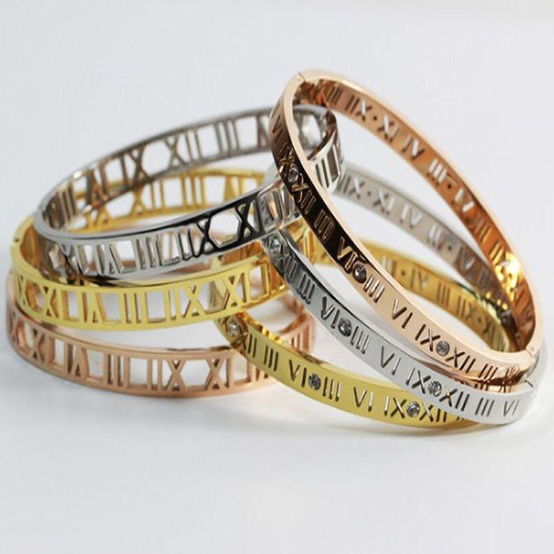 Bracelet For Women hollow out Bangles For Women Wedding Bracelets Bangles stainless steel jewelry tennis bracelet wholesale