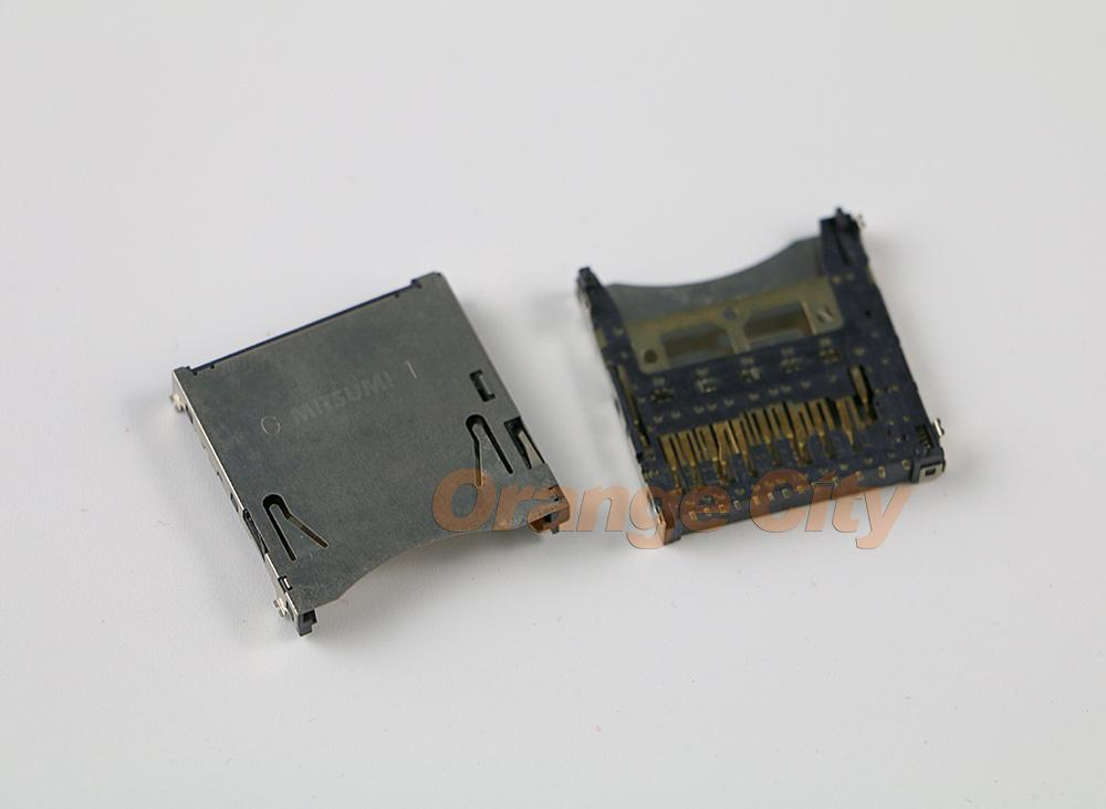 Slot para cartão SD original para Wii U WIIU Console parte de substituição