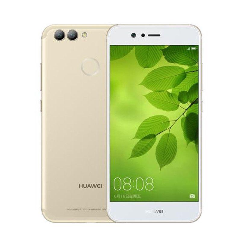 Best Original Huawei Nova 2 Plus 4G LTE Mobile Phone Kirin 659 Octa Core  4GB RAM 128GB ROM Android 5 5 2 5D Glass 20 0MP Three Camera Cell Phone