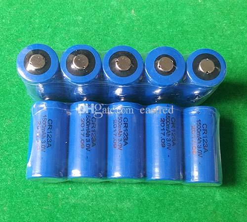 HOT 400pcs/lot 3v CR123A Non-Rechargeable Lithium Photo Battery 123 CR123 DL123 CR17345