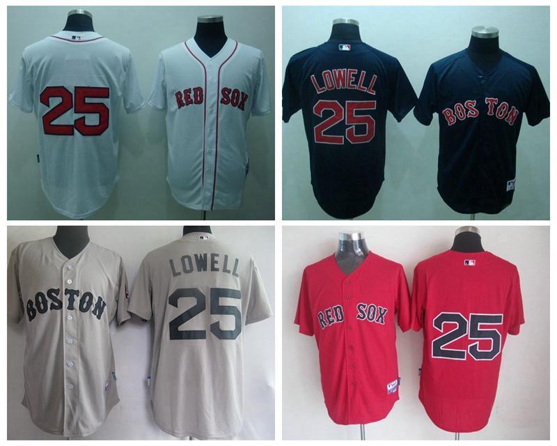 2787f87b6ee ... best 25 lowell white softball jerseys buy now mlb jerseys boston red sox  15 pedroia gray