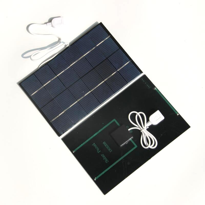 Wholesale 4.2W 6V Solar Charger For Power Bank Solar Cell Polycrystalline Solar Panel Charger 130*200MM 5PCS/Lot Free Shipping