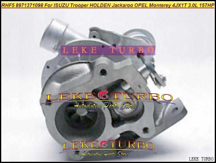 RHF5 8971371098 Turbo Turbocharger For ISUZU Trooper 1999-04 HOLDEN Jackaroo OPEL Monterey 4JX1TC 4JX1T 3.0L 157HP