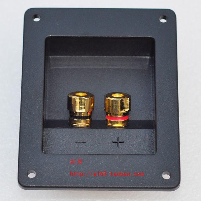 Hot sale 203d speaker junction box copper terminal horn wiring board audio notum,speaker push teminal/Free Shipping