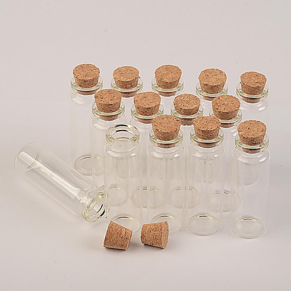 22x65x12.5 мм 15 мл стеклянные бутылки с пробками духи желая бутылки творческие декоративные стеклянные флаконы подвески 100 шт.