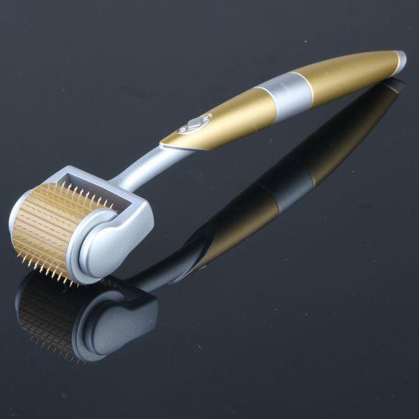 192 agujas derma ZGTS rodillos microagujas dermaroller con longitud de la aguja de 0,5 mm para el cuidado de la piel y contra el envejecimiento