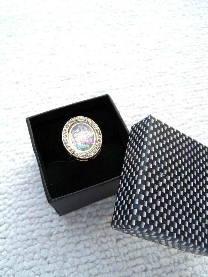 [Simples Sete] Branco Preto check Projeto caixa de jóia / amantes colar anel de caixa / Festival de Exibição / Nobres Brinco Studs Case / embalagem do presente Mulheres