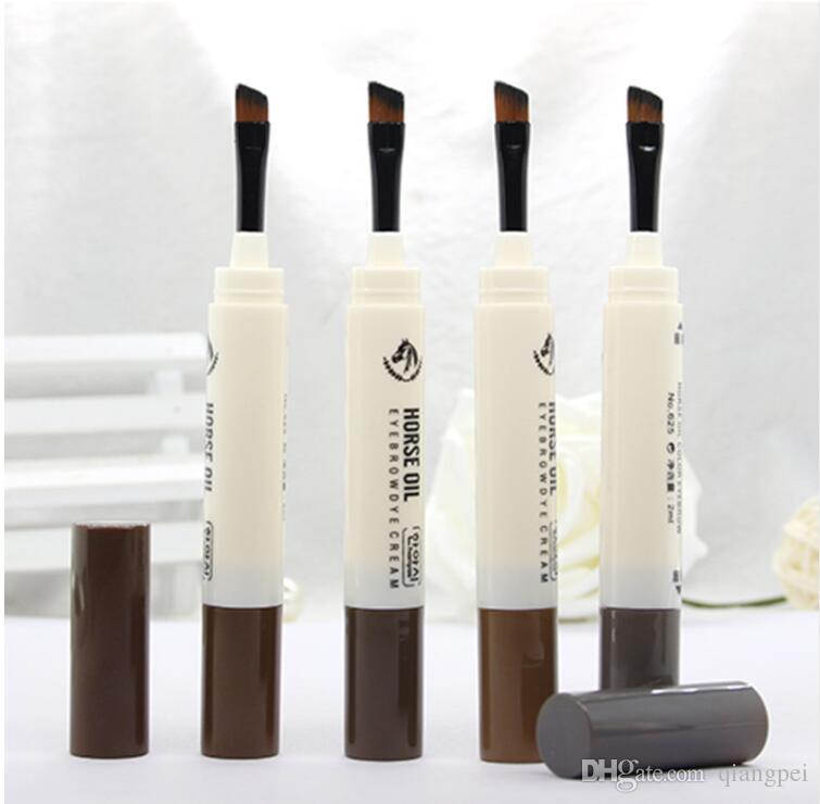 Augenbrauenstift Stift Make-up Feine Augenbraue Pomade Gel Enhancer Wasserdicht Make-Up Kosmetische Natürliche Augenbraue Gel Mit Pinsel