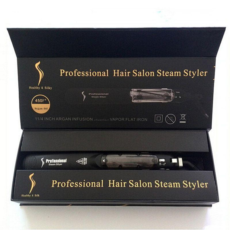 KangRoad выпрямитель волос профессиональный волос железа салон паровой Стайлер утюги с CE Rosh DHL доставка