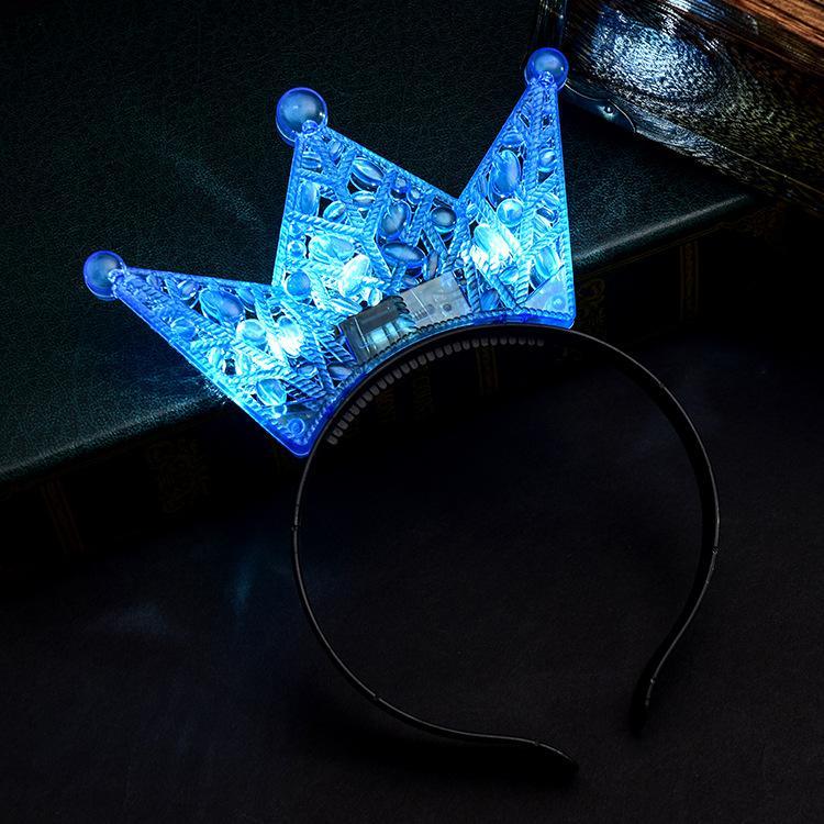 Специальное предложение свет шин корона венец флэш-обруч волос Рождественский концерт реквизит ларек продажа Оптовая
