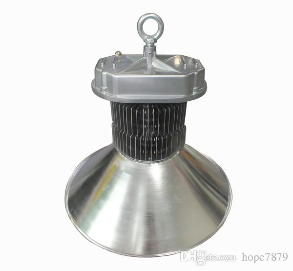 Fin radyatör 100 w 150 w 200 W Yüksek Defne ışık stadyum mahkemesi led aydınlatma depo atölye lambası 3 yıl garanti Meanwell sürücü bridgelux