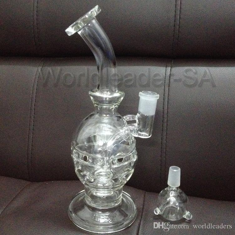 """5 mm de espesor 9.5 """"alto vidrio de pyrex bong pipas de agua reciclador Huevo Madre Fab Huevo burbuja fumar cigarrillo electrónico vidrio bong"""