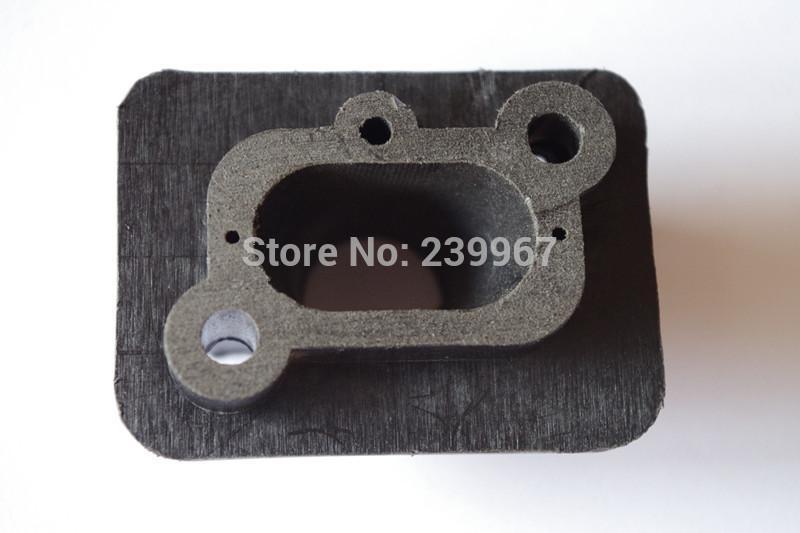 2019 2 X Carburetor Insulator/ Air Intake Manifold Fits