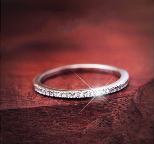 Serme ayar Lüks Takılar Vintage Topraklar 925 ayar gümüş Topaz cz elmas Düğün Nişan Band Yüzük Kadınlar Boyutu 5-9 Asla Fade için