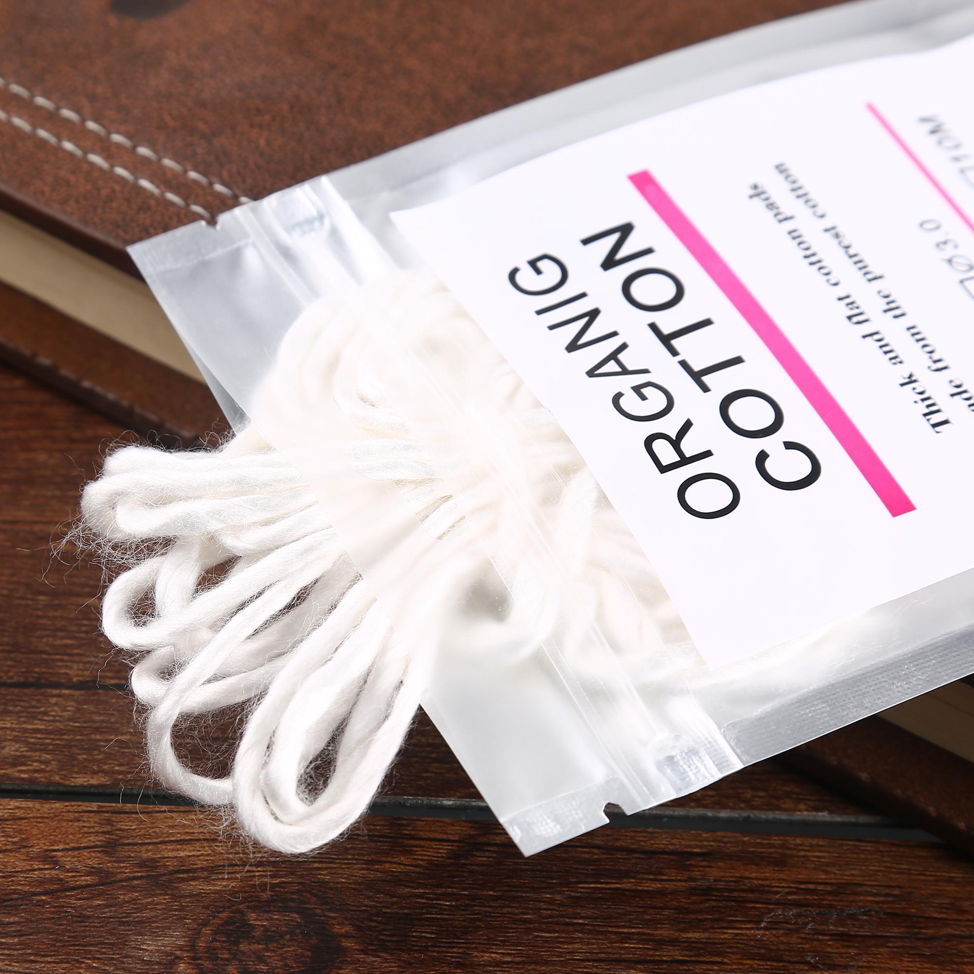 Filo di cotone organico puro cotone A1 di cotone organico per bobine di diversa resistenza fai da te