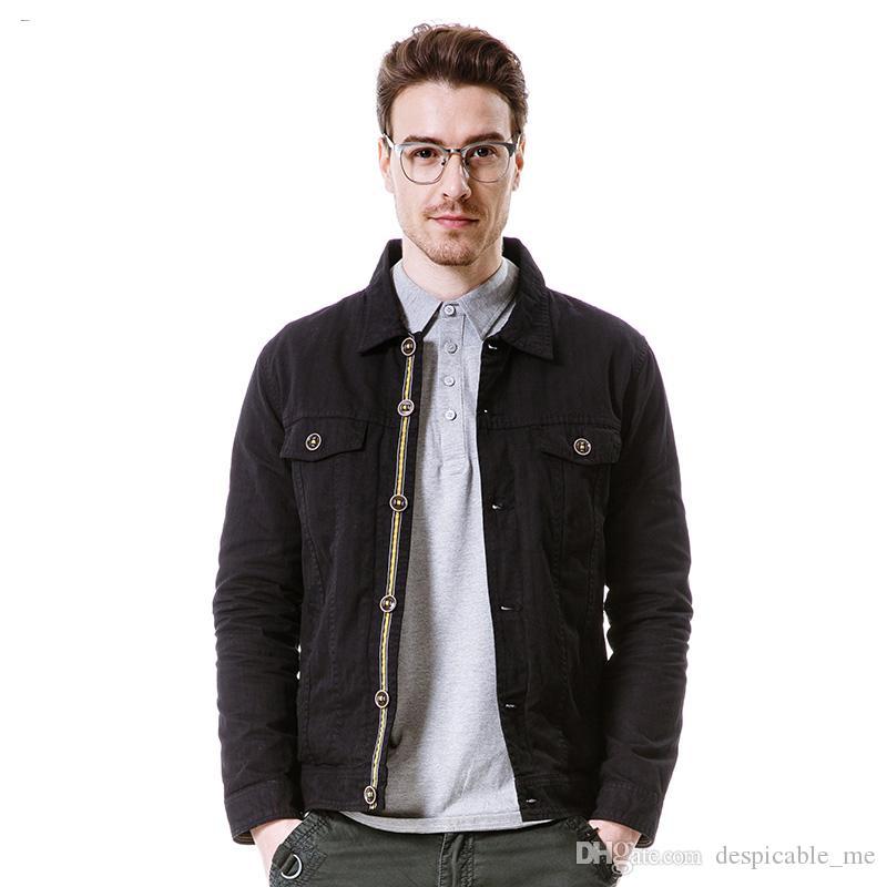 Neue Frühling Jacke Männer Marke Kleidung Mode Jacke Mantel männlichen Top-Qualität casual Outwear für Männer Single Breasted Mantel