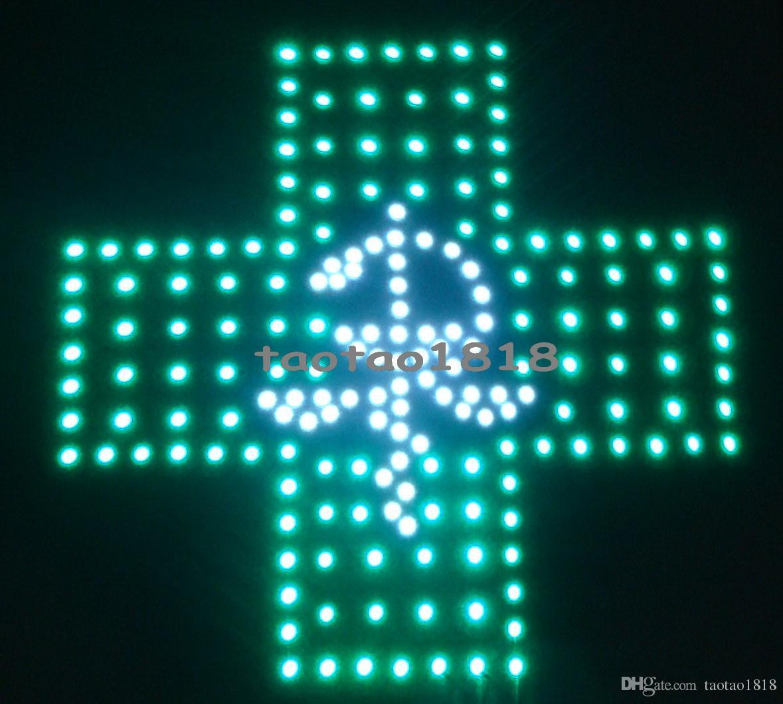 2016 горячие продажи графики 15 мм пикселей крытый светодиодный бизнес-магазин открытый неоновый знак 19x19 дюймов светодиодные аптека крест знак