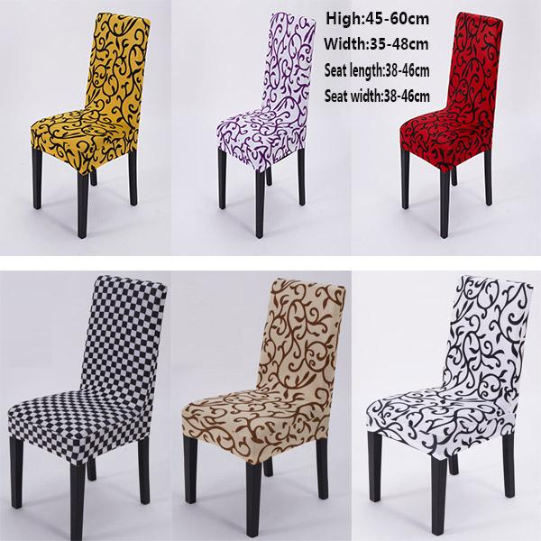 DHL Free Stretch Banquet Chair Cover Slipcovers Dining Room Wedding Party Short Chair Covers Home Textiles SH-C01