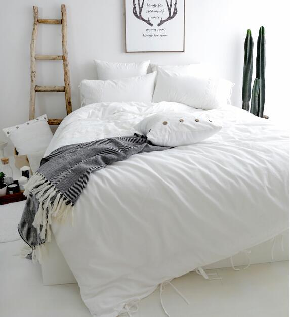 Washed Cotton Bedding Set Comforter, Quiksilver Bedding Queen Size